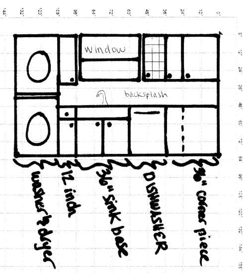 south kitchen wall layout
