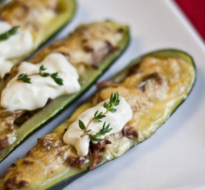 Stuffed-Zucchini-Boats-Recipe